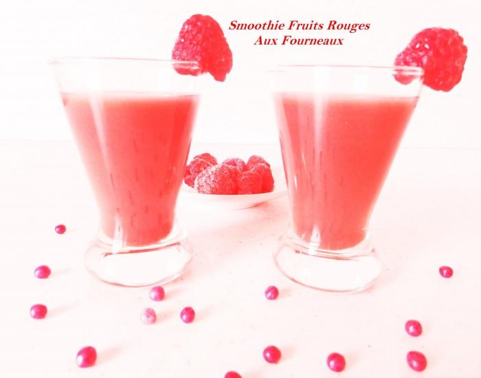 smoothie fruits rouges aux fourneaux. Black Bedroom Furniture Sets. Home Design Ideas