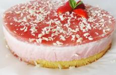 bavarois-aux-fraises-sans-gélatine