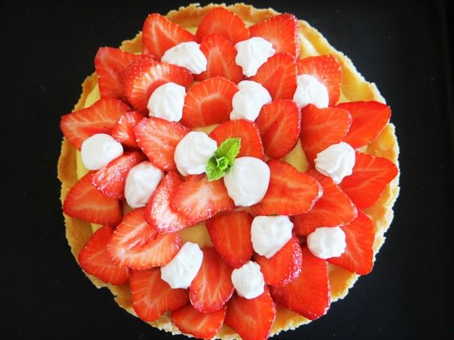 tarte aux fraises de pierre hermé