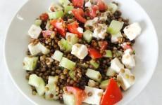 salade de lentilles a la grecque