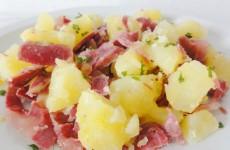 salade tiede de pommes de terre gesiers