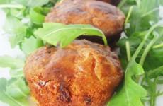 muffins sales chorizo et chevre
