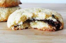cookies fourres coeur chocolat