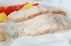 papillotte de saumon sauce hollandaise