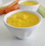 Soupe poireaux carottes