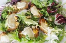 salade de chevre chaud aux noix