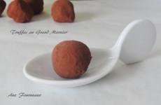 truffes chocolat Grand Marnier