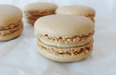 Macarons a la vanille de Pierre Herme