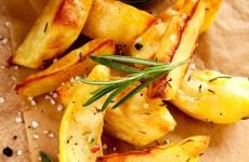 frites rustiques au four
