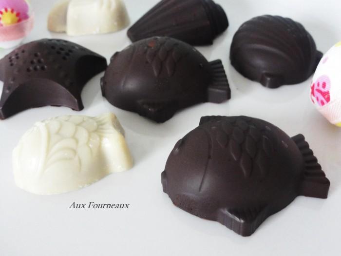 Friture de paques en chocolat