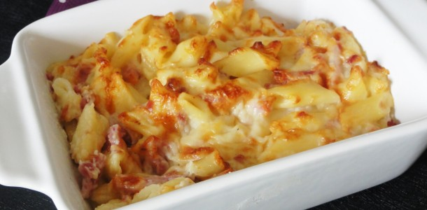 Gratin de p tes aux 3 fromages aux fourneaux - Que faire avec un reste de pates ...