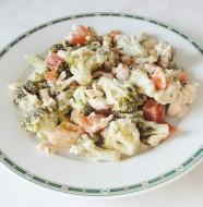 Salade froide poulet brocolis