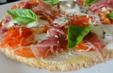 Bruschetta tomates mozzarella italienne
