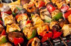 brochette de légumes au barbecue