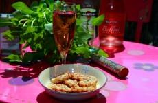 Biscuits apero parmesan basilic