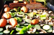 Legumes grilles a la plancha