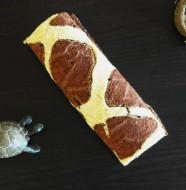 Roule imprime girafe