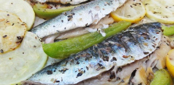 Sardines marinees au barbecue