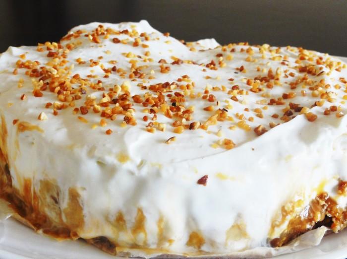 Banoffee pie  tarte banane caramel