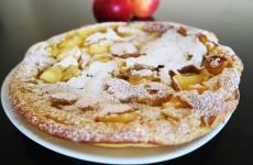 gateau aux pommes sans four