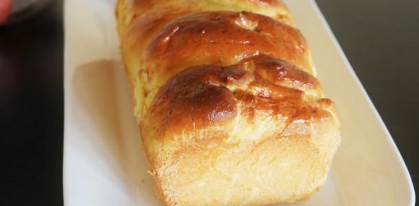 Brioche sans matière grasse au fromage blanc