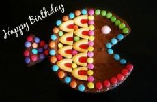gateau anniversaire poisson au chocolat