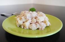 Salade de pommes de terre froide au thon