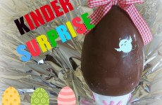 Kinder surprise xxL oeuf au chocolat