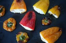 Mini poivrons apéritifs farcis