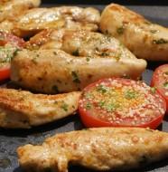 plancha aiguillette de poulet