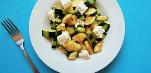 Salade de courgette à la feta