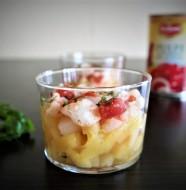 tartare de bar ananas poire