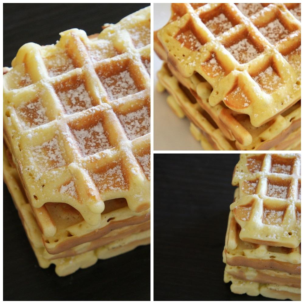 Gaufres sans beurre aux fourneaux - Recette de gaufre sans beurre ...