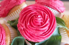 bouquet de fleurs cupcake
