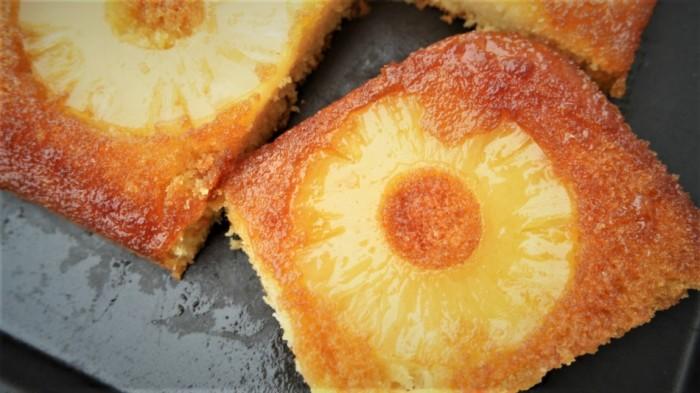 gateau moelleux ananas facile