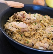 poulet yassa traditionnel facile