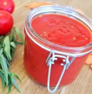 conserve coulis de tomate