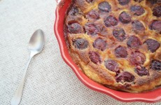 clafoutis traditionnel cerises