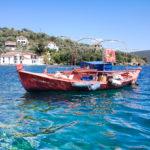 Bateau Grecque : ile Palaio Trikeri island - Grèce
