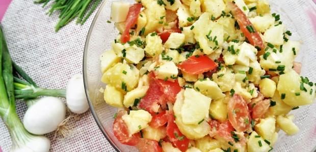 Salade pommes de terre vinaigrette