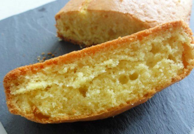Cake au citron et fleur d'oranger