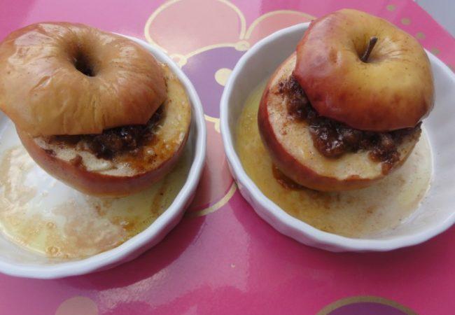 Pommes farcies aux spéculoos