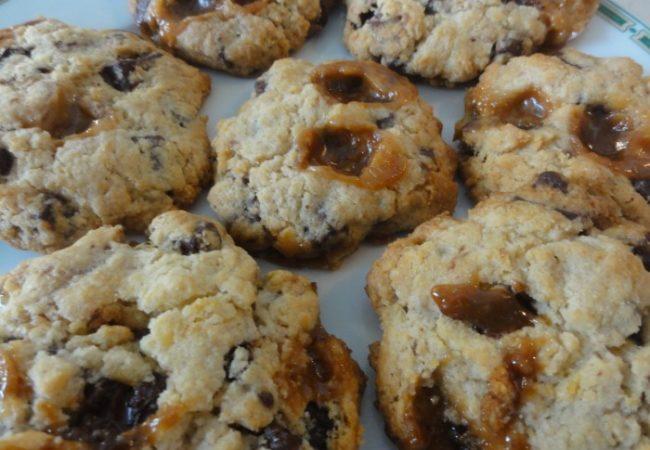 Des cookies caranougat