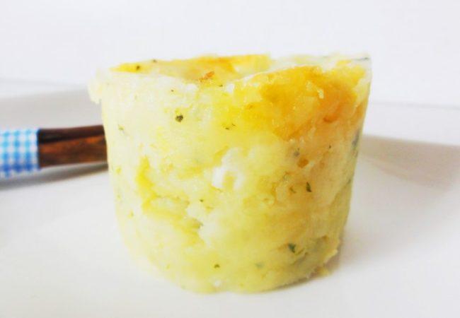 Ecrasé de pommes de terre au cantal