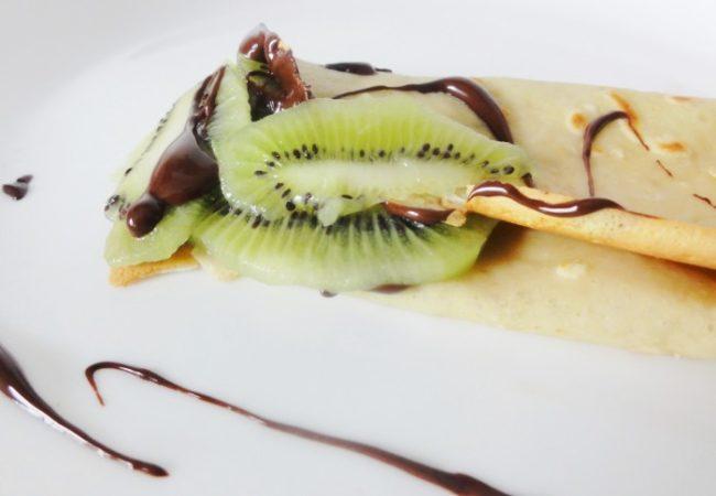 Crêpes chocolat kiwi