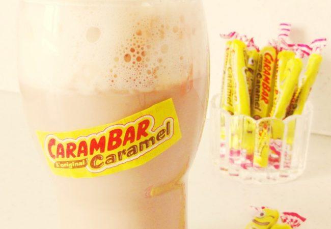 Milkshake Carambar {façon liègeois}