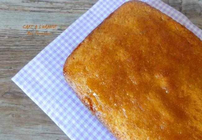 Cake à l'orange: recette