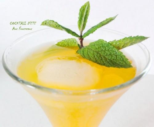 Apéritif facile sans alcool
