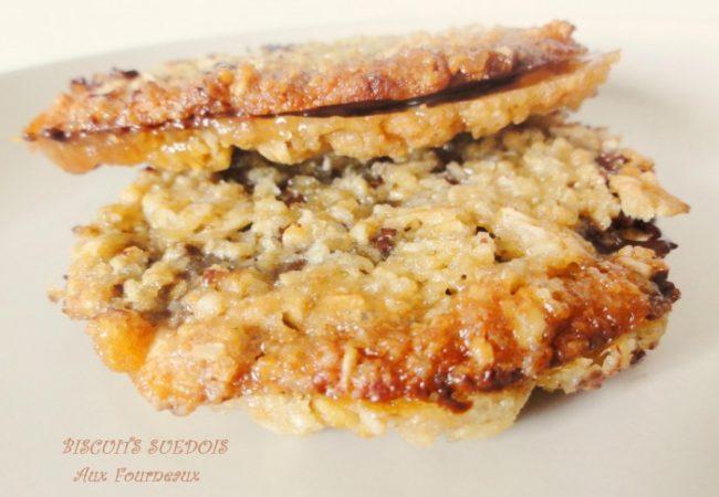 Biscuits suédois à l'avoine