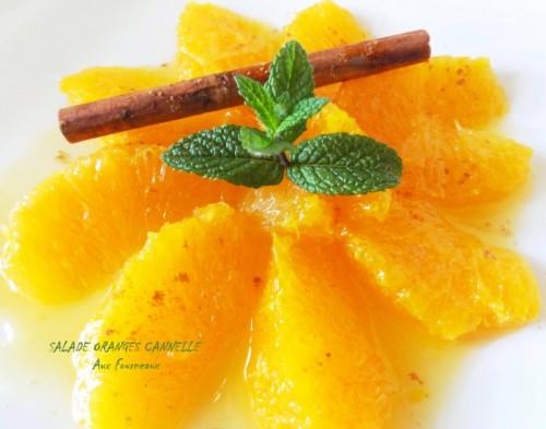 Salade d'oranges marocaine